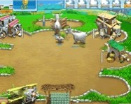 Farm Frenzy pizza party online