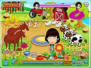 Little cute farmer kiszolg�l�s j�t�kok